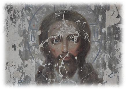 Фрагменты маслянной росписи Храма в честь Живоначальной Троицы, село Кособродка