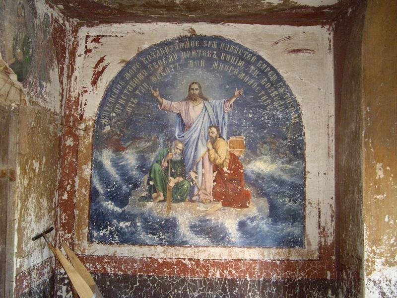 Сохранившаяся роспись храма 6